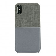Incase Textured Snap Case iPhone X Grijs - 1