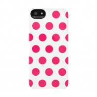 Incase Dots Snap Case iPhone 5 Raspberry - 1