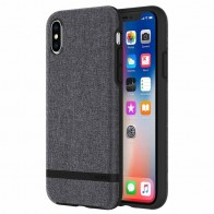 Incipio Esquire iPhone X Hoesje Grijs - 1