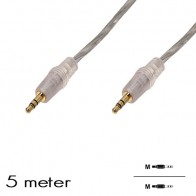 "OEM - Audio kabel ""Jack 3.5mm"" M/M (5 Meter)"