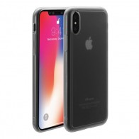 Just Mobile TENC iPhone X Case Matte Clear - 1