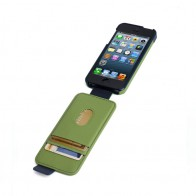 Kensington Flip Wallet iPhone 5 (Green Blue) 01
