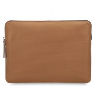Knomo - Embossed Laptop Sleeve 12 inch Bronze 01