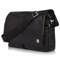 Knomo - Kobe 15 inch Laptop Messenger Black 01