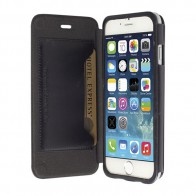 Krusell  Kiruna Leather BookCover iPhone 6 Black - 1