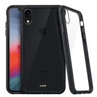 LAUT Accents iPhone XR Hoesje Zwart Transparant 01