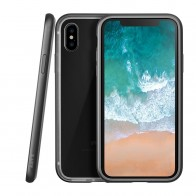 LAUT Exo Frame iPhone X Gun Metal - 1