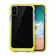 LAUT Fluro IMPKT Case iPhone X Yellow/Clear - 1