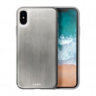 LAUT Huex Metallics iPhone X Silver - 1