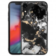 LAUT Mineral Glass Case iPhone XR Zwart 01