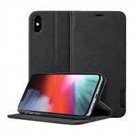 LAUT Prestige Folio iPhone XS Max Wallet Zwart 01