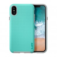 LAUT Shield iPhone X Mint Green - 1