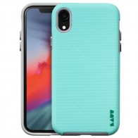 LAUT Shield iPhone XR Hoesje Mintgroen 01