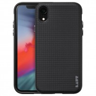 LAUT Shield iPhone XR Hoesje Zwart 01