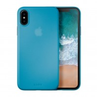 LAUT SlimSkin iPhone X Blue - 1