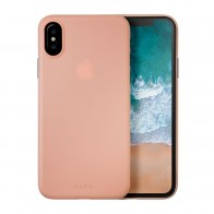 LAUT SlimSkin iPhone X Coral Pink - 1