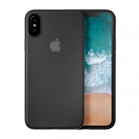 LAUT SlimSkin iPhone X Black - 1