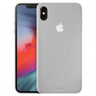 LAUT SlimSkin Flinterdun iPhone XS Max Hoesje Transparant 01
