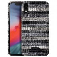 LAUT Venture Case iPhone XR Zwart Grijs 01