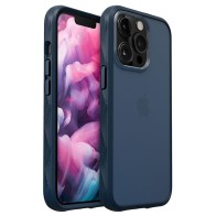 LAUT Crystal Matter 2.0 Case iPhone 13 Pro Blauw 01