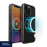 LAUT Crystal Matter Tinted MagSafe iPhone 13 Pro Zwart 01