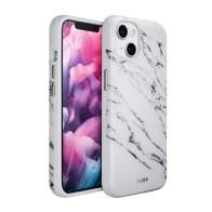 LAUT - Huex Elements iPhone 13 Wit Marmer 01