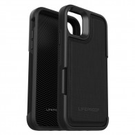 Lifeproof Flip Wallet iPhone 11 Zwart - 1