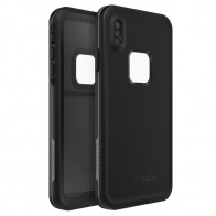 Lifeproof Fre Case iPhone XS Max Zwart (Asphalt Black) 01