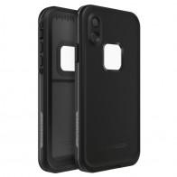 LifeProof Waterdichte Fre Case iPhone XR Asphalt Black Zwart 01
