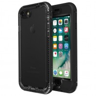 Lifeproof Nuud Case iPhone 7 Black - 01