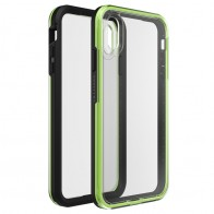 Lifeproof Fre Case iPhone XS Max Zwart / Groen (Night Flash) 01