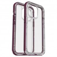 LifeProof Next iPhone 13 Pro Hoesje Paars Transparant 01