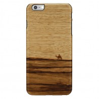 Man & Wood Houten Back Case Terra iPhone 6 Plus / 6S Plus - 1