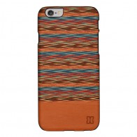 Man & Wood Houten Back Case Browny Check iPhone 6 / 6S - 1