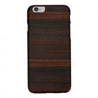 Man & Wood Houten Back Case Eboni iPhone 6 / 6S - 1
