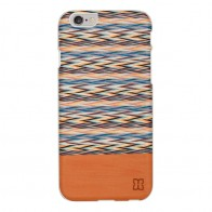 Man & Wood Houten Back Case Peroa Check iPhone 6 / 6S - 1