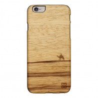 Man & Wood Houten Back Case Terra iPhone 6 / 6S - 1
