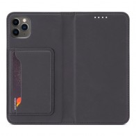 Mobiq Magnetic Gashion Wallet Case iPhone 12 / 12 Pro 6.1 inch Zwart - 1