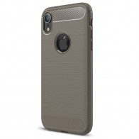 Mobiq Rugged Armor Case iPhone XR Grijs 01