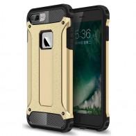 Mobiq - Rugged Armor Phone 8 Plus/7 Plus Hoesje Goud - 1