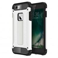 Mobiq - Rugged Armor Phone 8 Plus/7 Plus Hoesje Wit - 1