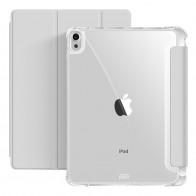 Mobiq Clear Back Folio iPad Air 10.9 (2020) Grijs - 1