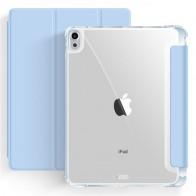 Mobiq Clear Back Folio iPad Air 10.9 (2020) Lichtblauw - 1