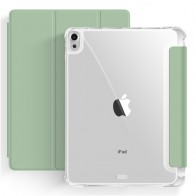 Mobiq Clear Back Case iPad Air 10.9 (2020) Lichtgroen - 1