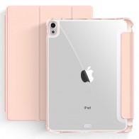 Mobiq Clear Back Folio iPad Air 10.9 (2020) Roze - 1