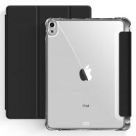 Mobiq Clear Back Folio iPad Air 10.9 (2020) Zwart - 1