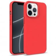 Mobiq Flexibel Eco Hoesje TPU iPhone 13 Mini Rood - 1