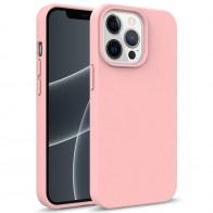 Mobiq Flexibel Eco Hoesje TPU iPhone 13 Mini Roze - 1