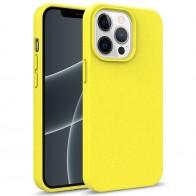 Mobiq Flexibel Eco Hoesje TPU iPhone 13 Pro Geel - 1