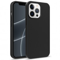 Mobiq Flexibel Eco Hoesje TPU iPhone 13 Pro Max Zwart - 1